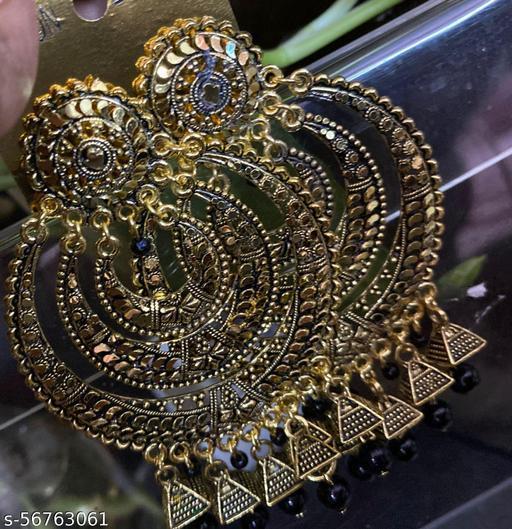 shimmering chick earrings