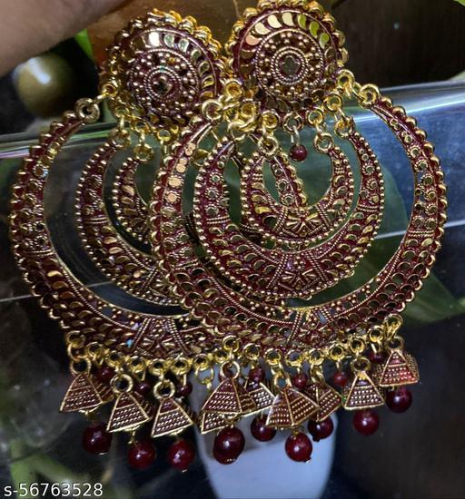 shimmering chic earring