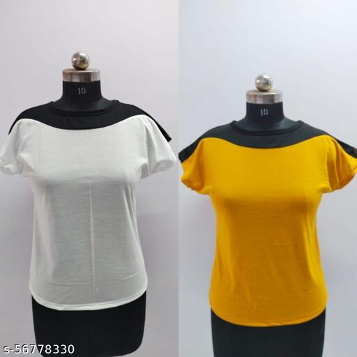 Shivam Round Neck T shirts 10025