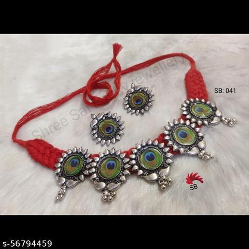 Febric Beni Necklace Choker Set