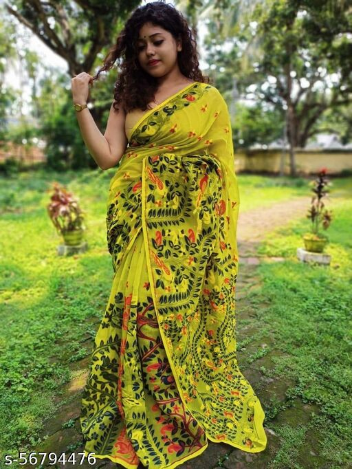 New Dhakai Jamdani Saree