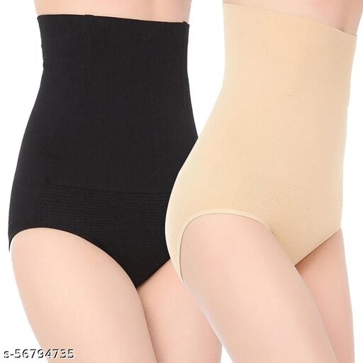 RAYYANS Pack of 2 IMPORTED MULTICOLOR TUMMY PANTIES