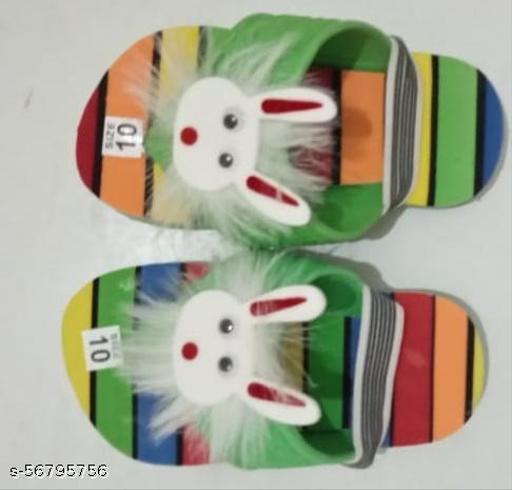 The Palku Boys & Girls Slip On Slipper Flip Flop  (Multicolor)