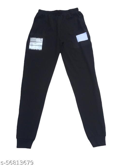 Black Track Pant Waists Size 24 inch