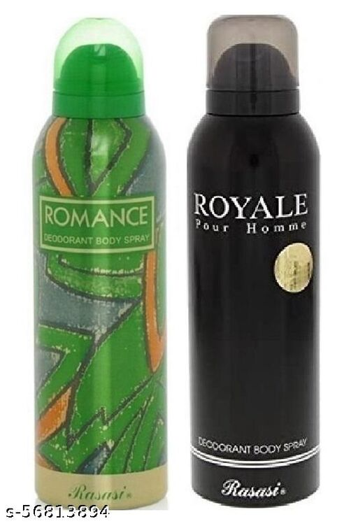 RASASI  ROMANCE AND ROYAL PACK OF 2