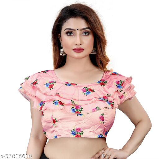 NK PAL STYLE Printed Ladies Blouse Fully Stitched and Alterable BLOUSE