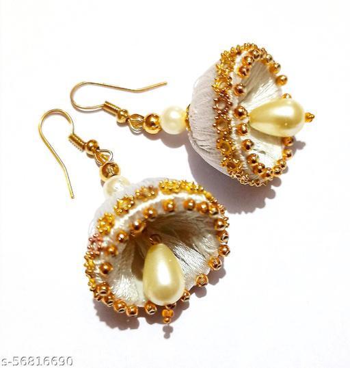 White Jummer  earring