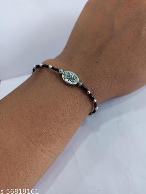 go4crafts-Stylist Bracelet for Women with oxidized charm