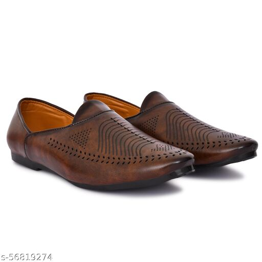 Neoron Brown Loafers for Men's