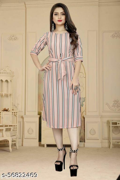 Stylish Crep designer  dress