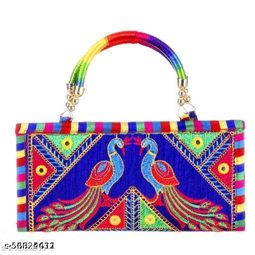 aaliya stylish clutch handbag