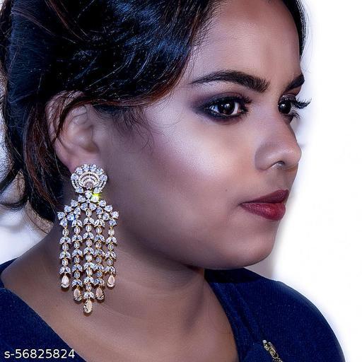 Hanging Trendy earrings ER100002-G