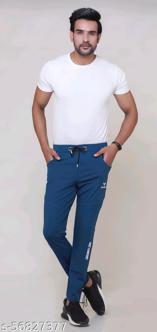 lucky fashion men's lycra track pants