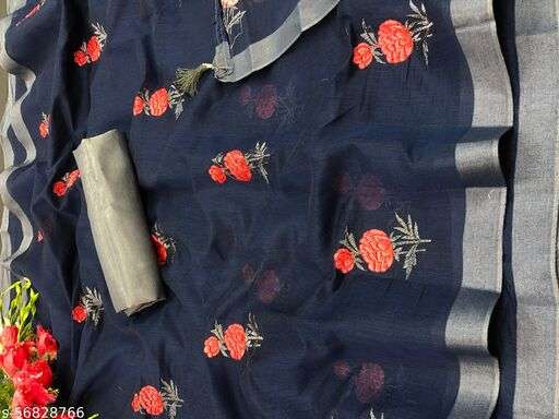 Exclusive Festival Wear Chanderi Cotton Sarees