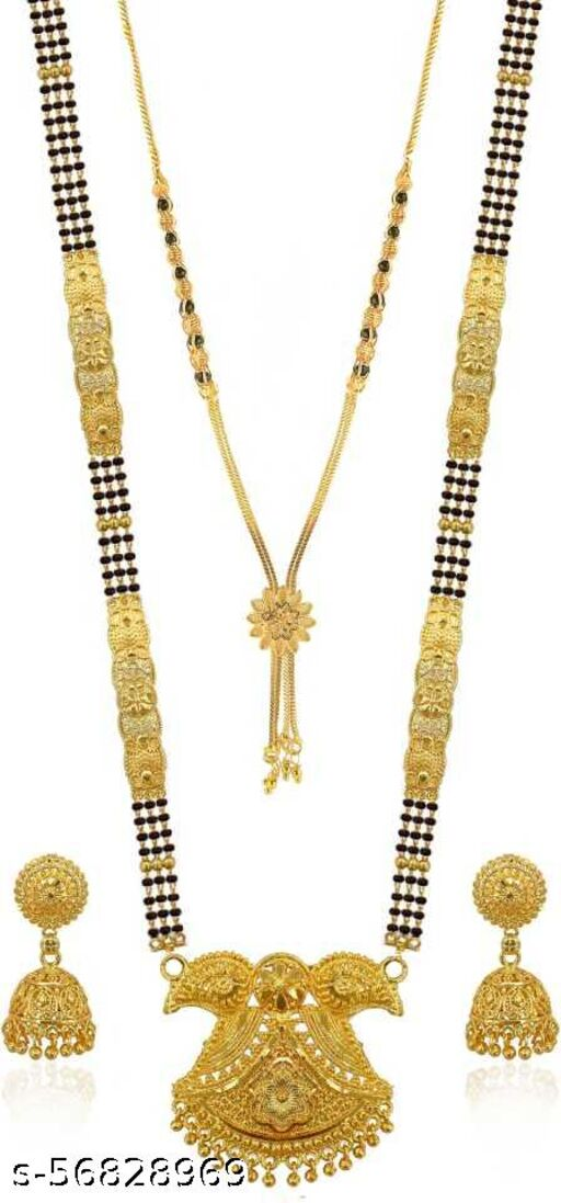Gold plated jewel set