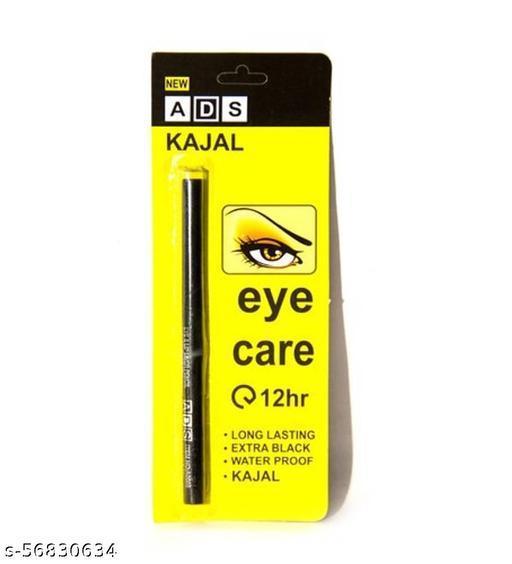 ADS  Eye care 12 hours long lasting eye care kajal ,Extra black