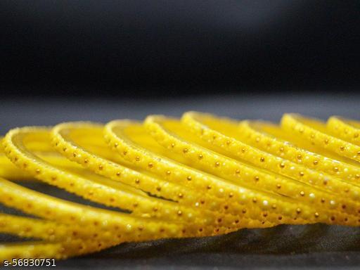 Khoobsurat KASHAF Lemon Glass Bangles
