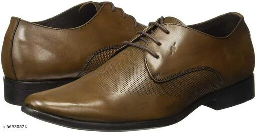 Lace Up For Men  (Brown) formal shoes