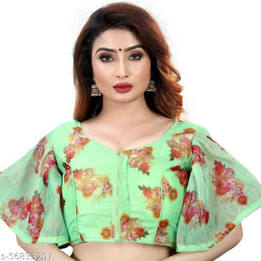 BRIVA BLOLLYWOOD STYLE NEW DESING FENCY BLOUSE