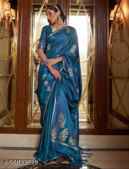 Women's Kota Doria Cotton Manipuri Saree With Unstitched Blouse Piece