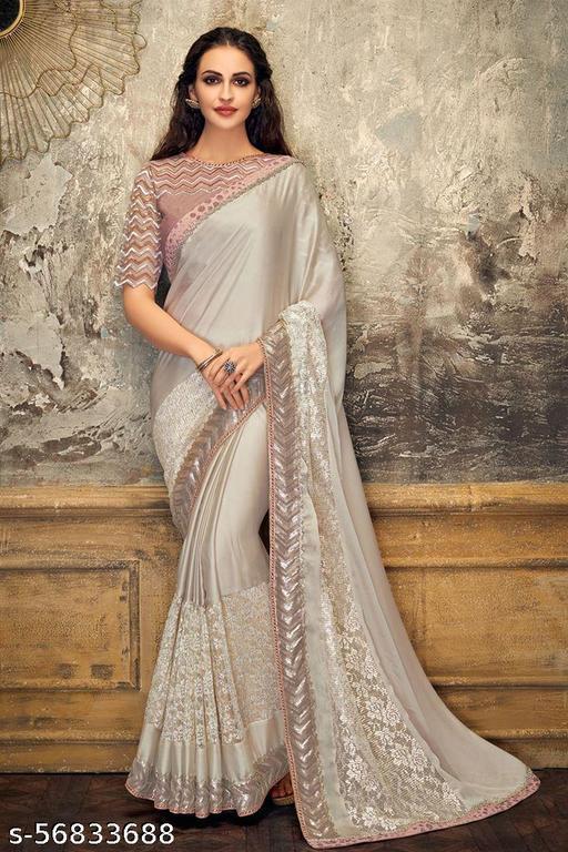 Women's Cotton Silk Heavy Kutchi Work With Peacock Design Embroidered Saree