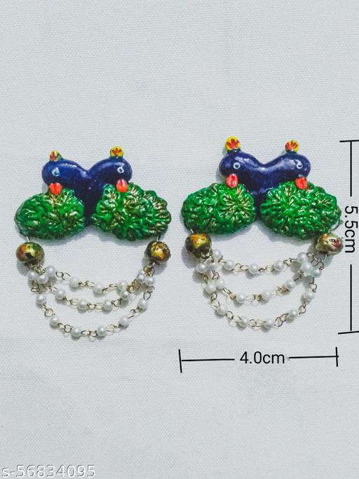 Peacock design earring for women/girl