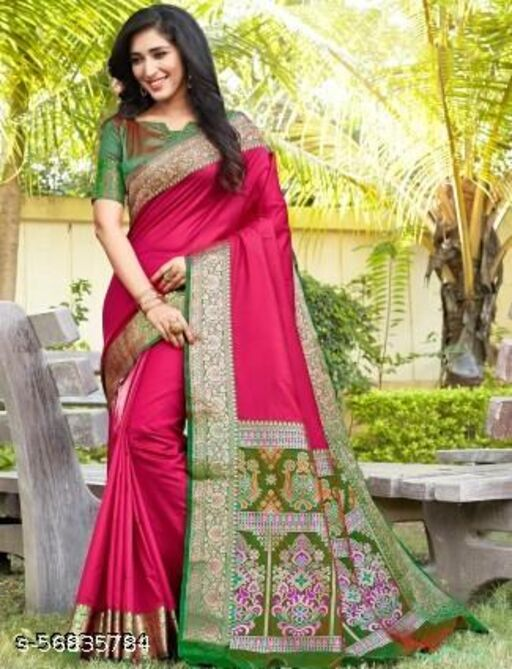 Georgette Saree with Blouse Piece