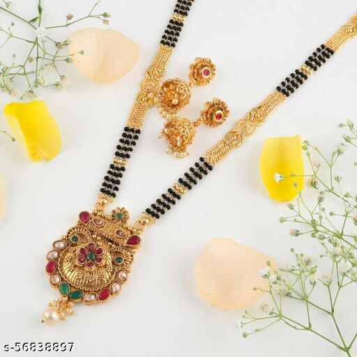 Gold plated Mangalsutras