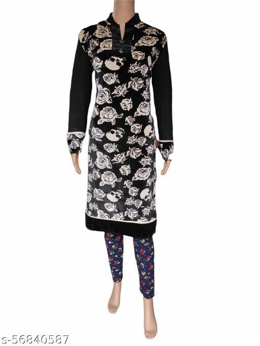 Winter wear kurti