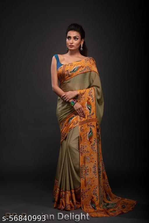 Women's beautifull printed soft saree