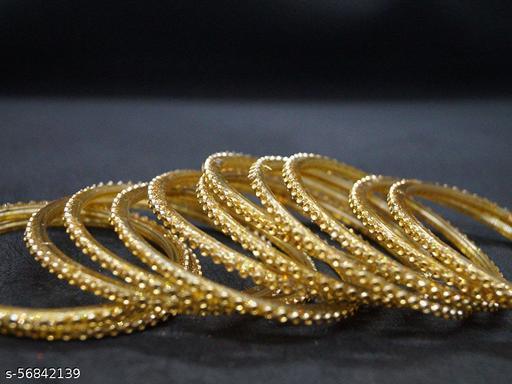 Swagat KASHAF Golden Glass Bangles