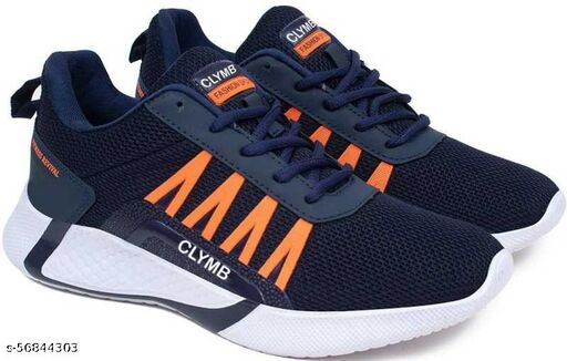 CLYMB NAVY BOUNCER SPORTS SHOES