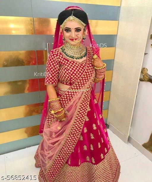 pink lehenga choli for women