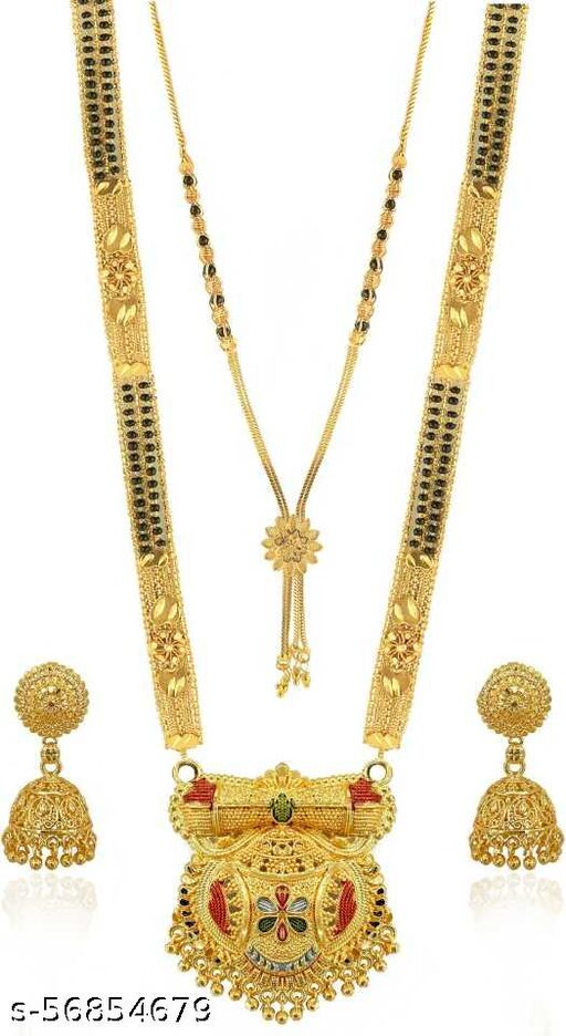 Fancy Gold-Plated Mangalsutra (m241)