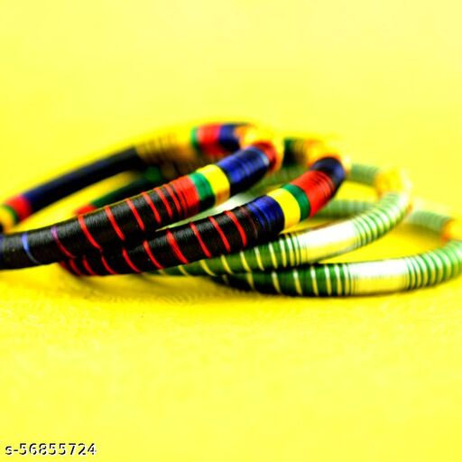 Handicraft silk bangle set|New collection