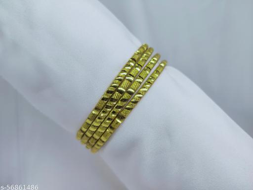 bangles (metal gold)