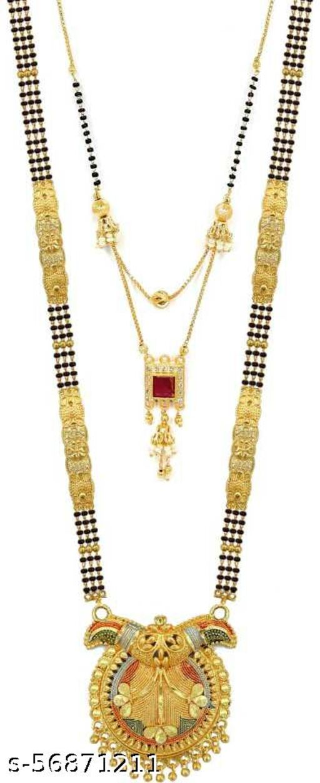 Brass women mangalsutra