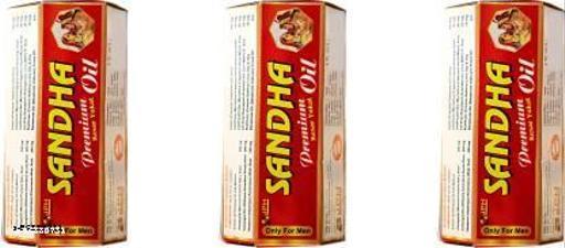 Sandha premium Kesar Yukt Oil Pack of 15ml x 3 Bottles