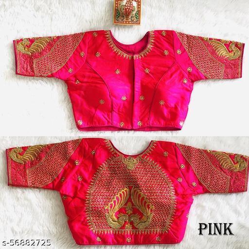 Vihu Fashion's new readymade blouse has fancy maggam work koding work and jari work blouse for women wear