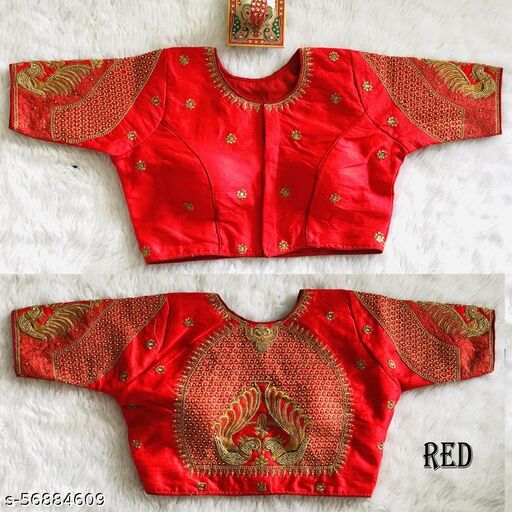 Zihana creation's new readymade blouse has fancy maggam work koding work and jari work blouse for women wear