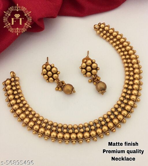 Cheapokart's Gold Plated Necklace Set