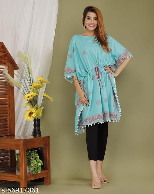Womens trendy tunic Kaftan
