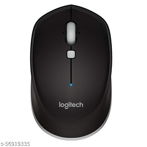 Logitech M337 Wireless Mouse, Bluetooth, 1000 DPI Laser Grade Optical Sensor, 10-Month Battery Life, PC/Mac/Laptop - Black