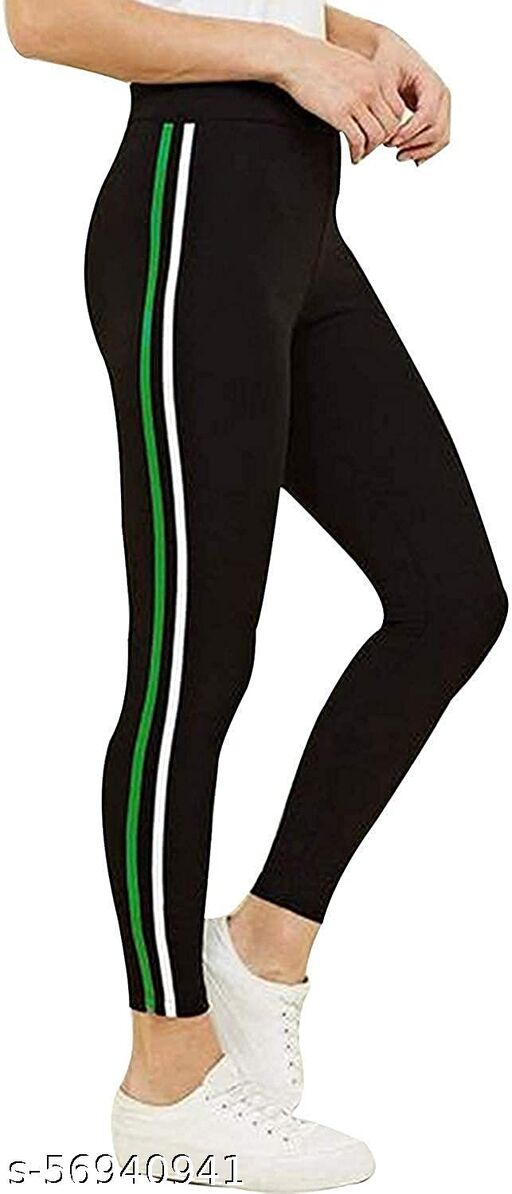 FITG18 Girl's Slim Fit Track Pants free size