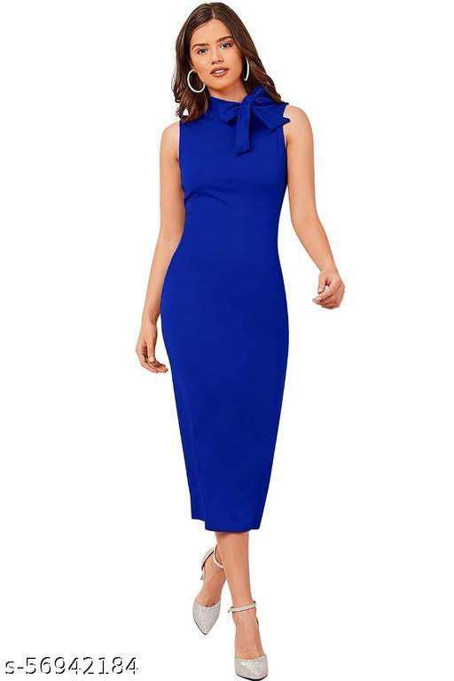 Bodycon Royal Blue Dress