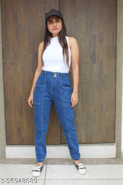 Trendy Feminine Women Jeans