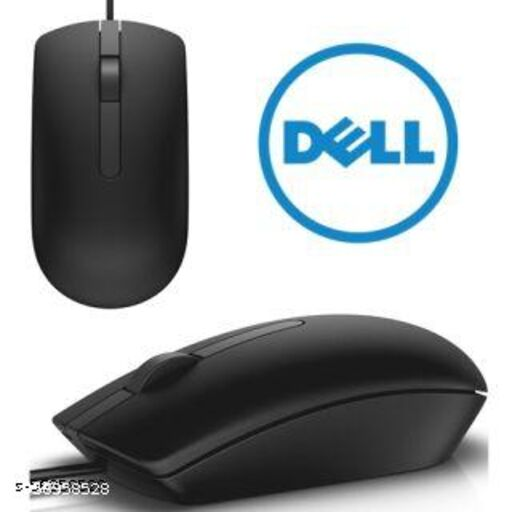 DELL OPTICAL MOUSE MS116 WIRED GAMIMG OPTICAL MOPUSE