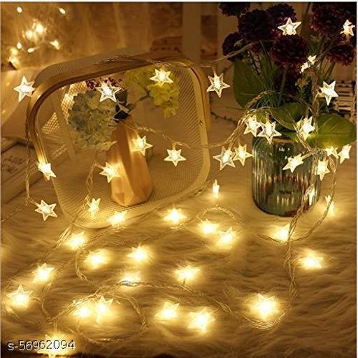 Star String Lights for Indoor Outdoor Decoration Diwali Light for Party Birthday Diwali Christmas Navratri Valentine Gift Home Decoration Light