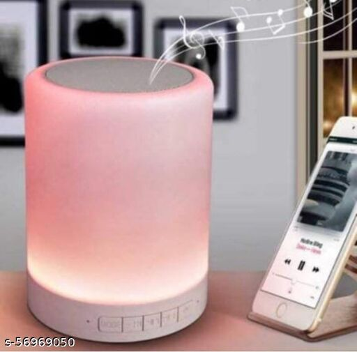touch lamp bluetooth portable speaker