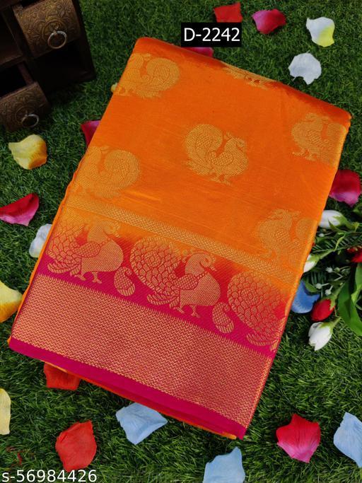 Banarasi Style Presenting Kanjivaram Silk style Saree